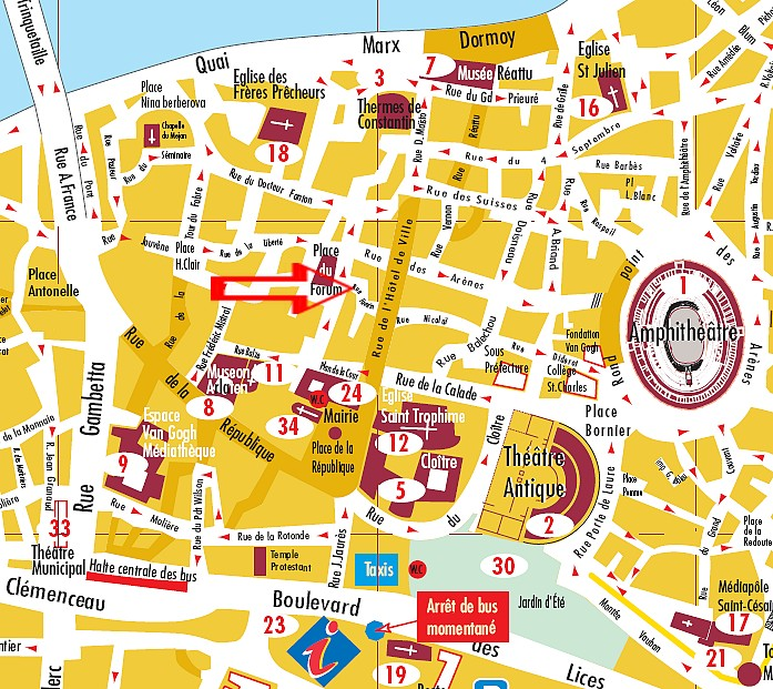 Centre Ville Plan
